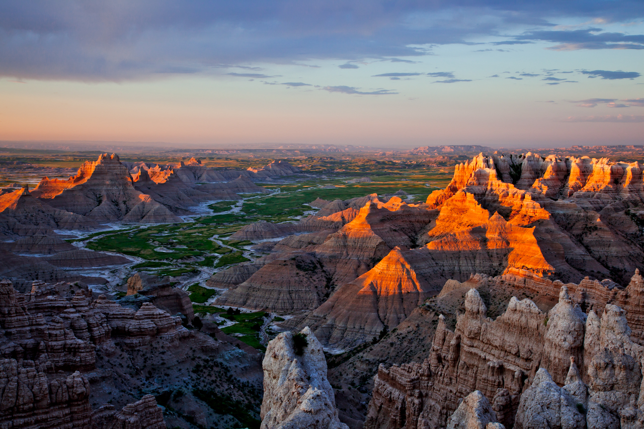 badlands-south-unit-sunrise